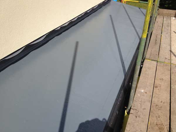 GRP roofing repairs