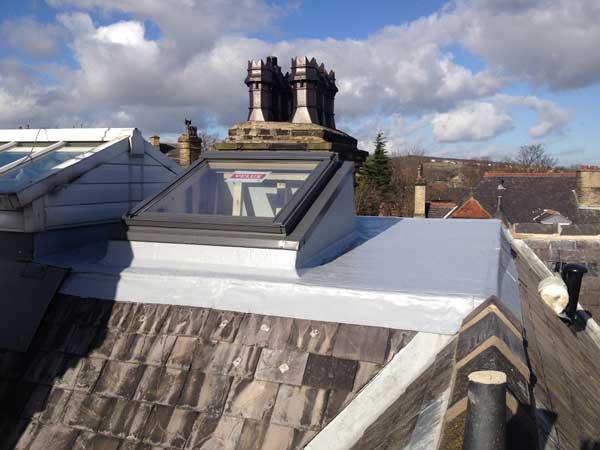 Polyurethane roof repairs